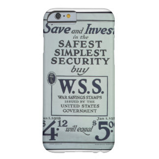 Save_and_Invest_in_the_Propaganda Poster Barely There iPhone 6 Case