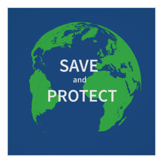 Save and protect poster