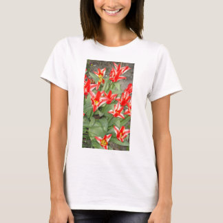 save and white tulips T-Shirt