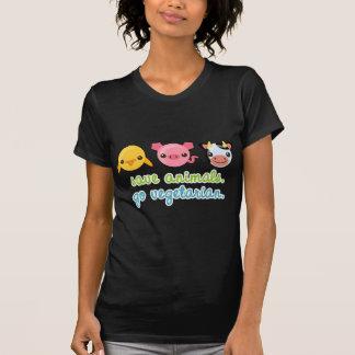 Save Animals Go Vegetarian Shirt