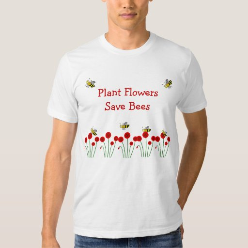 Save Bees T Shirt Zazzle