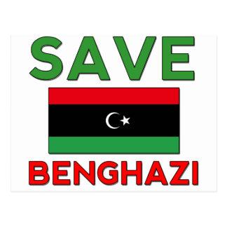 Save Benghazi Postcard