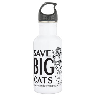 Save Big Cats Water Bottle