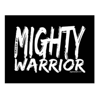 Save by Mighty Warrior Postcards