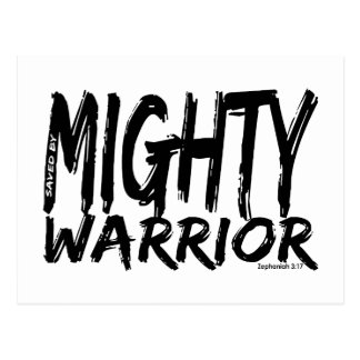 Save by Mighty Warrior Postcard