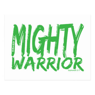 Save by Mighty Warrior Post Card