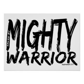 Save by Mighty Warrior Poster