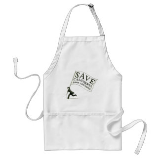 Save CA School Libraries Merchandise Adult Apron
