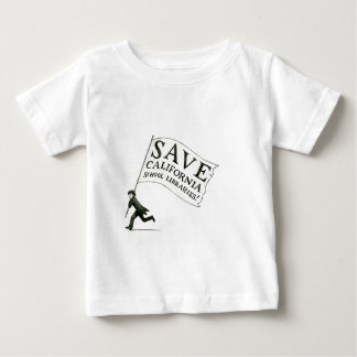 Save CA School Libraries Merchandise Baby T-Shirt
