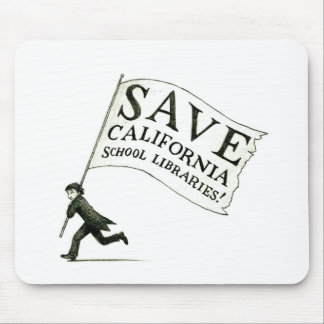 Save CA School Libraries Merchandise Mouse Pad