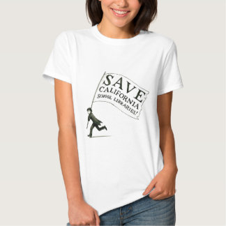 Save CA School Libraries Merchandise T Shirt
