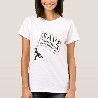 Save CA School Libraries Merchandise T-Shirt