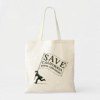 Save CA School Libraries Merchandise Tote Bag