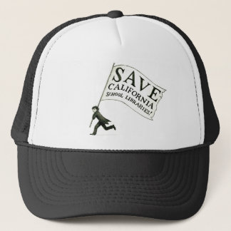 Save CA School Libraries Merchandise Trucker Hat