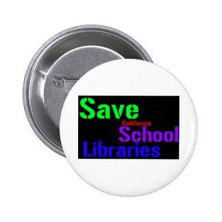 Save California School Libraries - Wordle Button