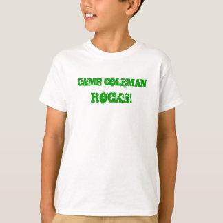 Save Camp Coleman kids t T-Shirt