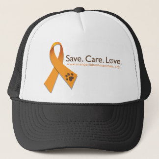 SAVE CARE LOVE TRUCKER HAT