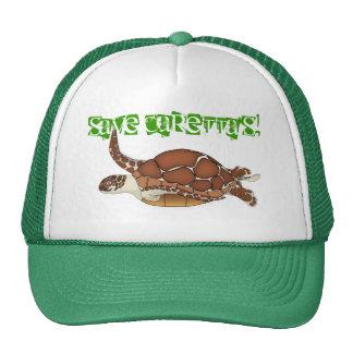 save caretta's! trucker hat