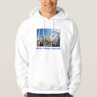 Save Coney Island! Adult Hoodie Sweatshirt