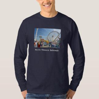 Save Coney Island! Adult Long-Sleeve T-shirt