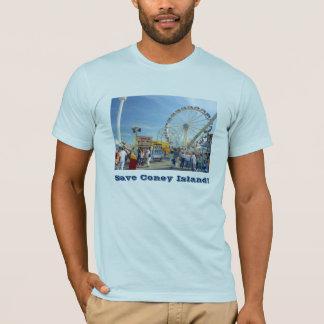 Save Coney Island! Adult T-shirt
