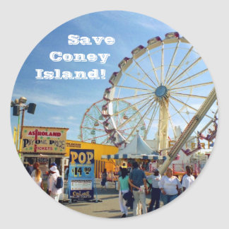 Save Coney Island! Stickers Stickers