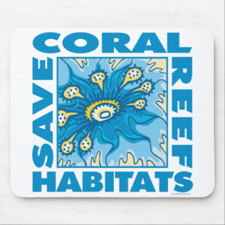 Save Coral Reefs Mouse Pad
