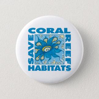 Save Coral Reefs Pinback Button