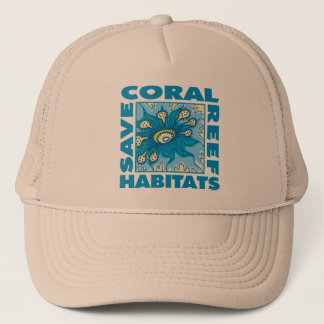 Save Coral Reefs Trucker Hat