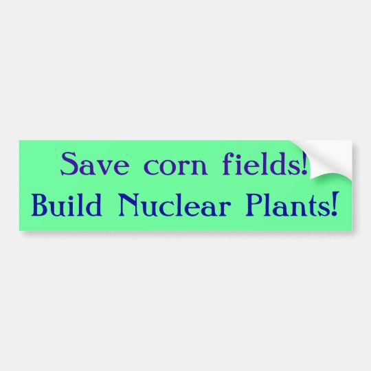 Save Corn Bumper Sticker