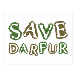Save Darfur 1 Postcard