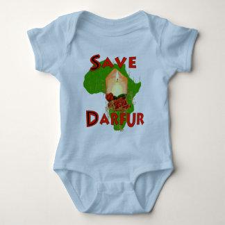 Save Darfur Baby Bodysuit