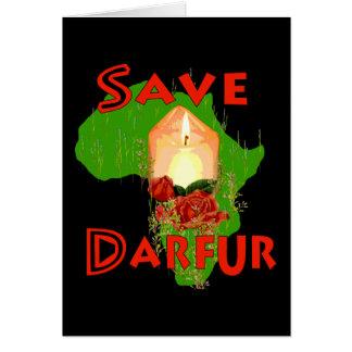 Save Darfur Card