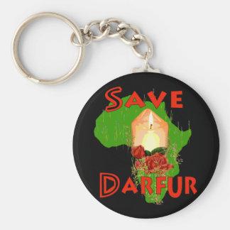 Save Darfur Keychain