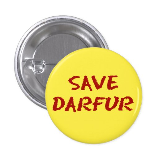 Save Darfur Mini Button