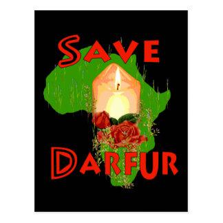 Save Darfur Postcard