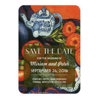 Save Date Thai Elephants Card