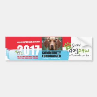 Save DogPAW off-leash Parks Bumper Sticker
