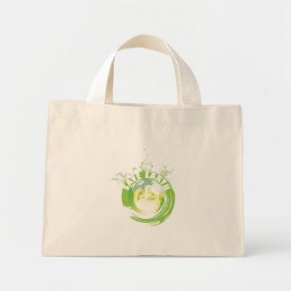 Save Earth apparel, bags, apron and tie.