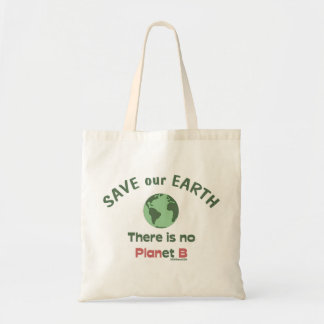 Save Earth Canvas Bags