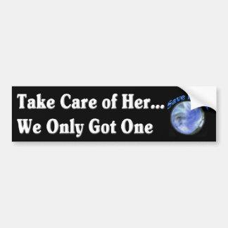 Save Earth Bumper Sticker