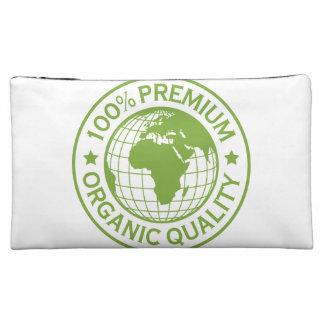 Save Earth Environment Globe Map Cosmetic Bag