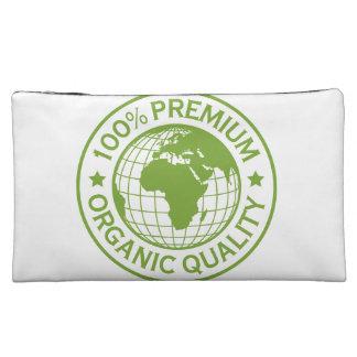 Save Earth Environment Globe Map Makeup Bag