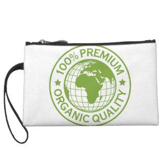 Save Earth Environment Globe Map Wristlet Wallet