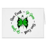 Save Earth Go Green Butterfly Cards