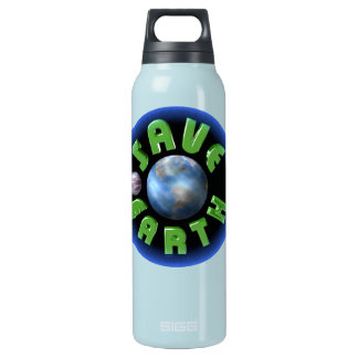Save Earth on 100 Insulated Water Bottle