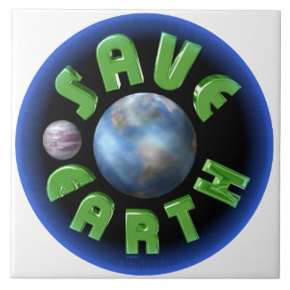 Save Earth on 100+ products by Valxart.com Tiles