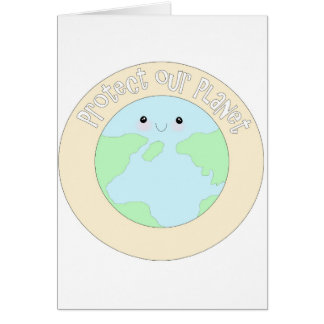 Save earth & protect our planet.jpg greeting card