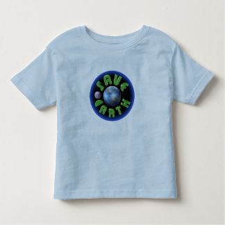 Save Earth Toddler T-shirt