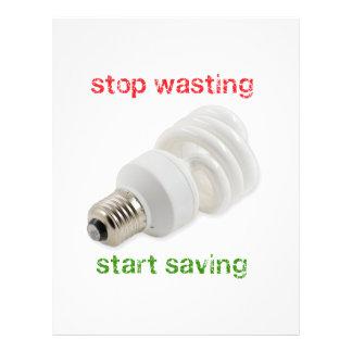 Save energy flyer